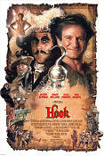 Hook 1991 poster Robin Williams Steven Spielberg