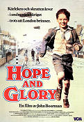 Hope and Glory 1987 Movie poster Sarah Miles John Boorman