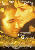Autumn in New York 2000 Movie poster Richard Gere