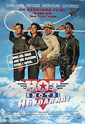Hot Shots 1991 Movie poster Charlie Sheen