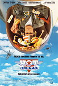 Hot Shots! 1991 poster Charlie Sheen Jim Abrahams