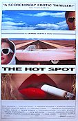 The Hot Spot 1990 poster Don Johnson