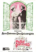 Hotel Paradiso 1966 Movie poster Alec Guinness