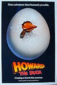 Howard the Duck Poster 68x102cm USA RO original