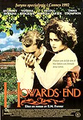 Howards End 1992 Movie poster Anthony Hopkins