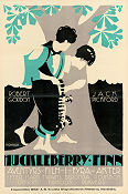 Huck and Tom 1918 Movie poster Robert Gordon