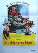 Huckleberry Finn 1975 Movie poster Jeff East