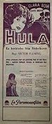 Hula 1927 Movie poster Clara Bow