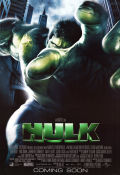 The Hulk 2003 Movie poster Ang Lee