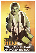 The Hulk Wants You 1979 poster Lou Ferrigno