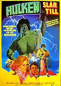 The Bride of the Incredible Hulk 1980 poster Bill Bixby