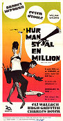 How to Steal a Million 1966 poster Audrey Hepburn William Wyler