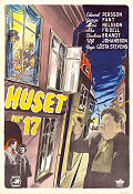 Huset nr 17 1949 Movie poster Edvard Persson