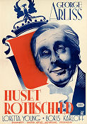 The House of Rothschild 1934 poster George Arliss Alfred L Werker