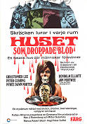 The House That Dripped Blood 1971 Movie poster Christopher Lee Peter Duffel