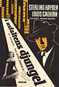 The Asphalt Jungle 1950 poster Marilyn Monroe John Huston