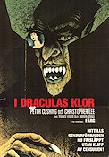Horror of Dracula 1958 poster Peter Cushing Terence Fisher