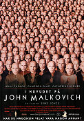 Being John Malkovich 1999 poster John Cusack Spike Jonze