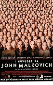 Being John Malkovich 1999 Movie poster John Cusack Spike Jonze