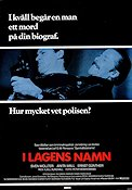 I lagens namn 1986 Movie poster Sven Wollter