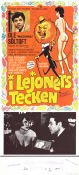 I lejonets tecken 1976 Movie poster Ole S�ltoft