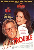 I Love Trouble 1994 poster Nick Nolte