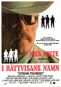 Extreme Prejudice 1987 Movie poster Nick Nolte