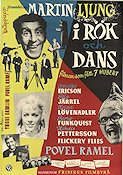 I r�k och dans 1954 Movie poster Povel Ramel