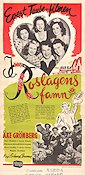 I Roslagens famn 1945 Movie poster Evert Taube