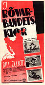 Lone Star Pioneers 1939 poster Bill Elliott