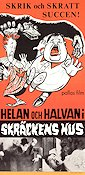 Oliver the Eighth 1934 poster Helan och Halvan Lloyd French