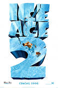 Ice Age 2 2006 Movie poster