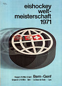 Ice Hockey World Championship Bern 1971 poster
