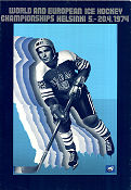 Ice Hockey World Championship Helsinki 1974 poster