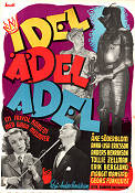 Idel �del adel 1945 Movie poster �ke S�derblom