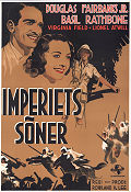 The Sun Never Sets 1939 poster Douglas Fairbanks Jr Rowland V Lee