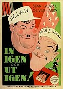 Pardon Us 1931 poster Laurel and Hardy