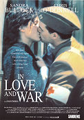 In Love and War 1996 Movie poster Sandra Bullock