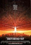 Independence Day 1996 Movie poster Will Smith