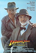 Indiana Jones and the Last Crusade 1989 poster Harrison Ford Steven Spielberg