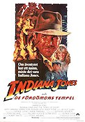 Indiana Jones and the Temple of Doom 1984 poster Harrison Ford