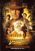 The Kingdom of the Crystal Skull 2008 poster Harrison Ford Steven Spielberg