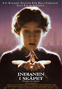 The Indian in the Cupboard 1995 Movie poster Hal Scardino