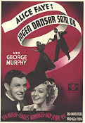 You´re a Sweetheart 1937 poster Alice Faye David Butler