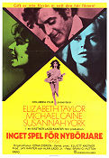 X Y Zee 1972 Movie poster Elizabeth Taylor