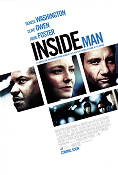 Inside Man 2006 Movie poster Denzel Washington