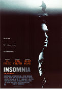 Insomnia 2002 Movie poster Al Pacino Christopher Nolan