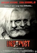 Instinct 1999 poster Anthony Hopkins