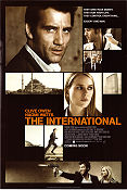 The International 2009 Movie poster Clive Owen Tom Tykwer