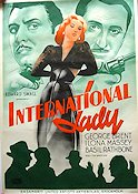 International Lady 1941 poster George Brent